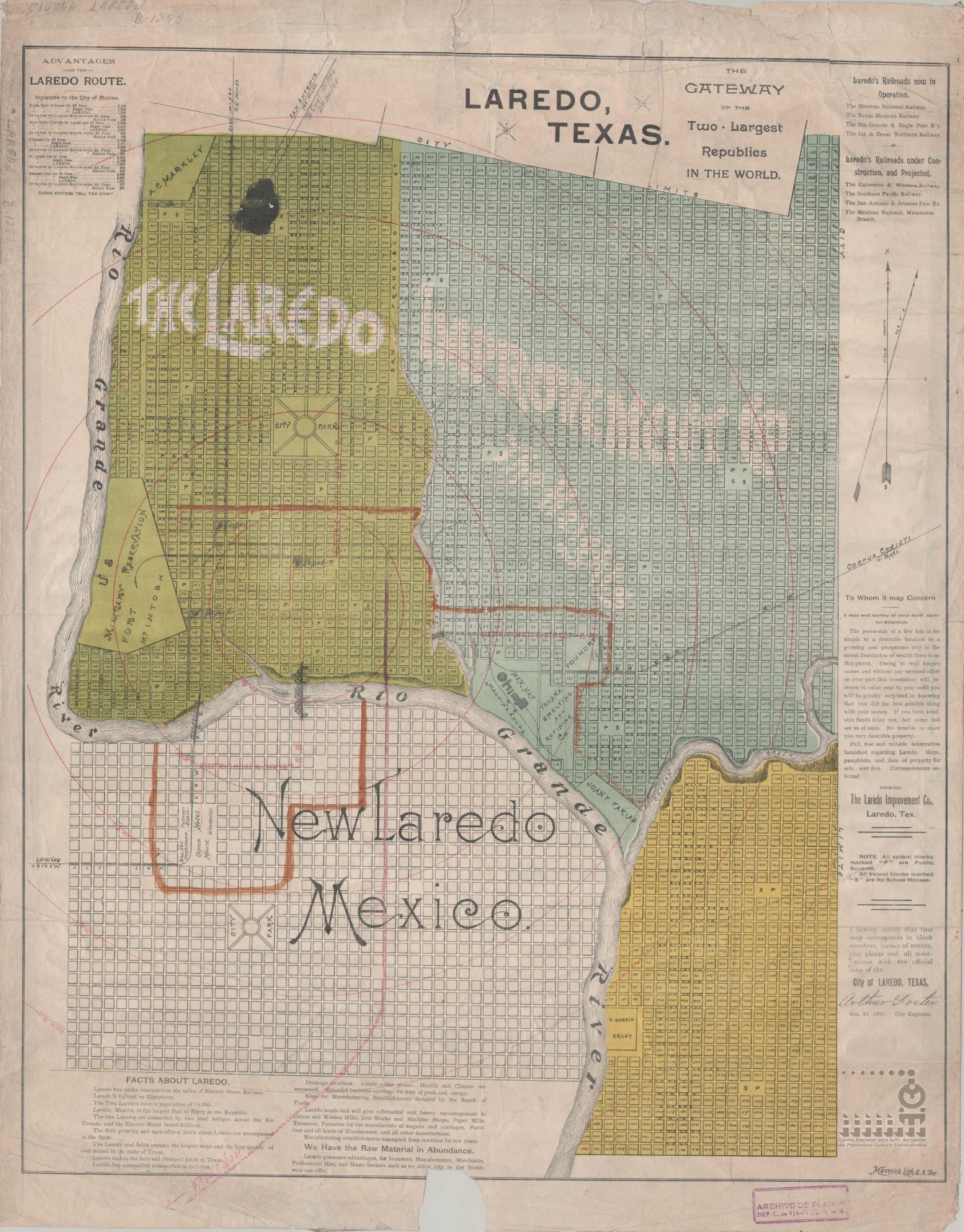 Imagen de Advantages of the Laredo route.