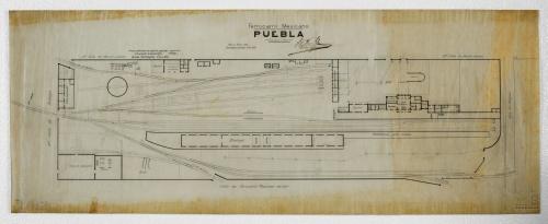Imagen de Ferrocarril Mexicano. Puebla.
