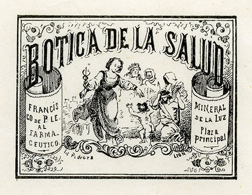 Imagen de Viñeta Botica de la Salud