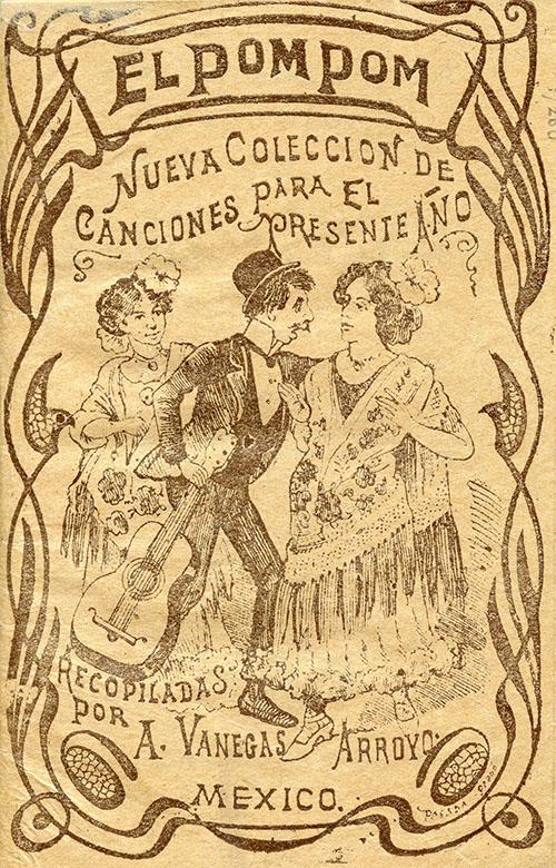 Imagen de El Popom. Nueva Colección de Canciones para El Presente año Recopiladas por a. Vanegas arroyo)
