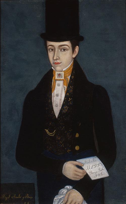 Imagen de Retrato de Miguel Arochi y Baeza