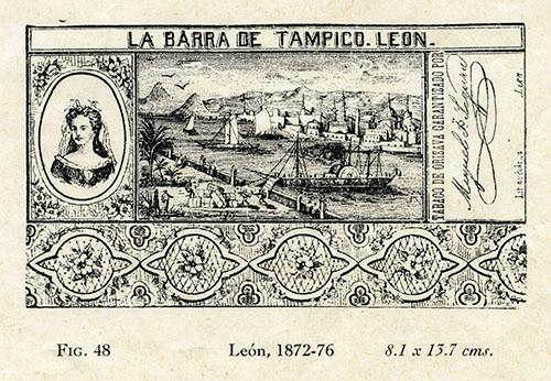 Imagen de La Barra de Tampico, Tabaco de Orizaba Garantizado por Miguel J. Segura