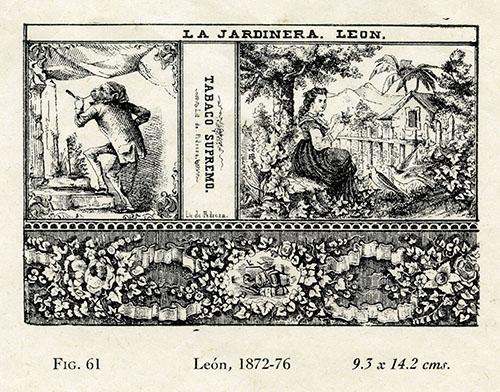 Imagen de La Jardinera, León. Tabaco Supremo. Fig. 61