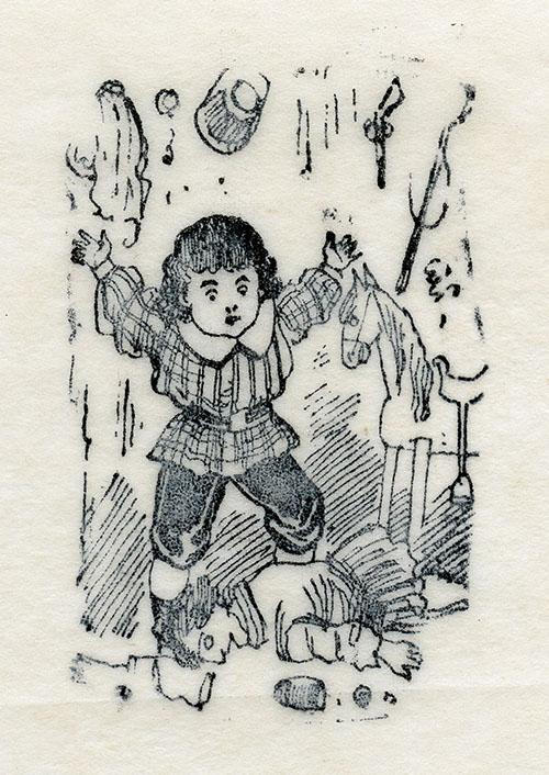 Imagen de Niño rompiendo juguetes