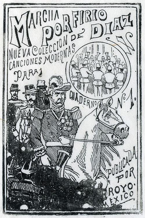 Imagen de Marcha de Porfirio Díaz. Nueva Colección de Canciones Modernas para Cuaderno No. 1