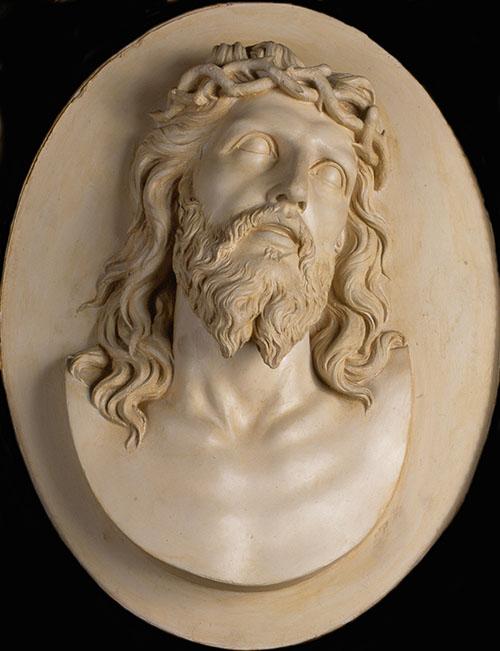 Imagen de Medallón con Cristo Coronado de espinas