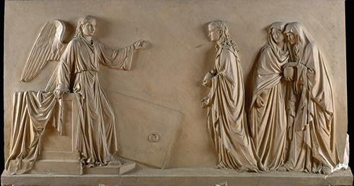 Imagen de Las Marías en el Sepulcro de Cristo