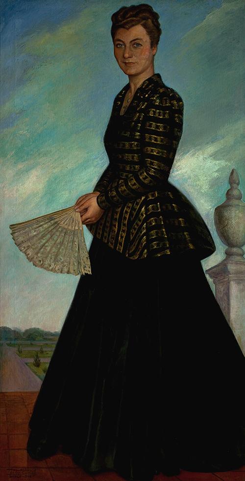 Imagen de Retrato de la Señora Blanca Maples Arce