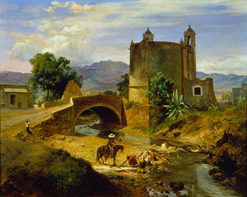 Imagen de El Puente de San Antonio en el Camino de San Ángel, Junto a Panzacola