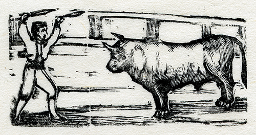 Imagen de Banderillero con toro