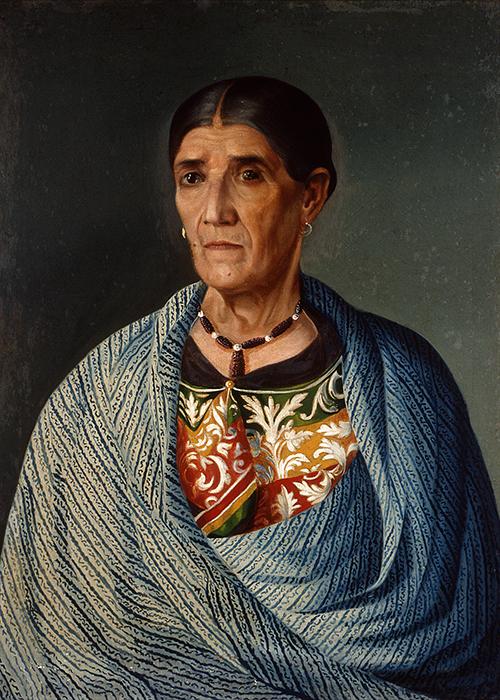 Imagen de Retrato de Mujer con Rebozo