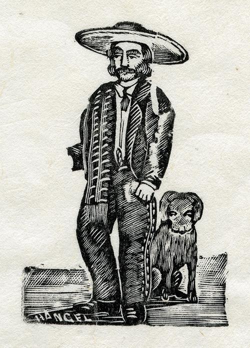 Imagen de Charro con Perro
