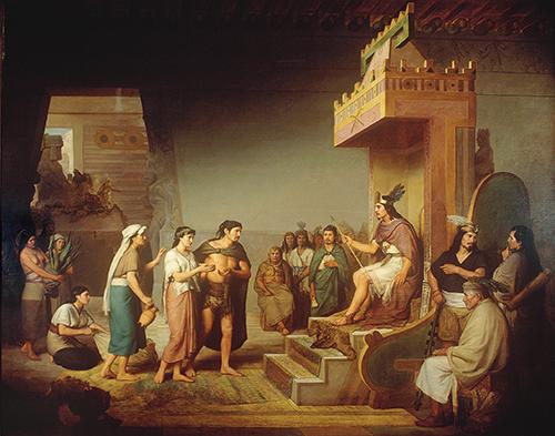 Imagen de El descubrimiento del Pulque