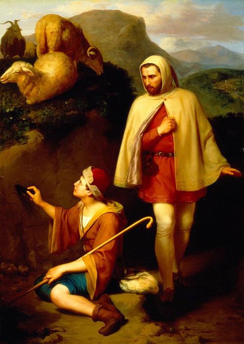 Imagen de Giotto y Cimabue