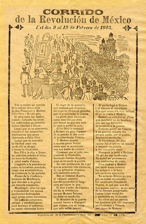 Imagen de Corrido de la Revolución de México
