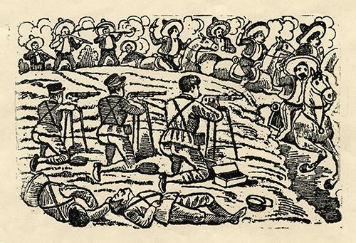 Imagen de Combate con los Zapatistas