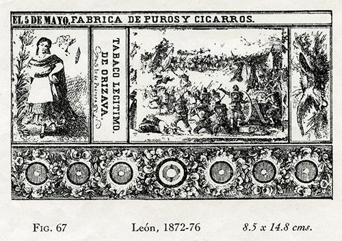 Imagen de El Cinco de Mayo. Fábrica S Wpuros y Cigarros Iii