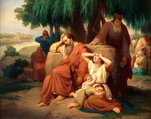 Imagen de El Cautiverio de los Hebreos en Babilonia