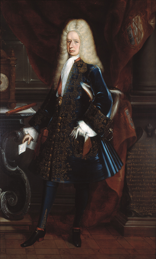 Imagen de Retrato del Virrey Duque de Linares