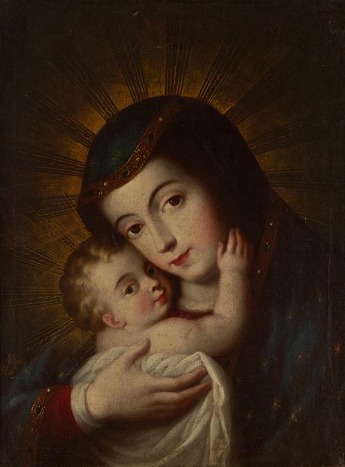 Imagen de La Virgen de Pasavensis y el niño
