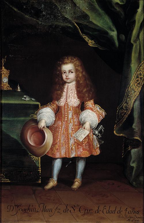 Imagen de Retrato del niño Joaquín Manuel Fernández de Santa Cruz