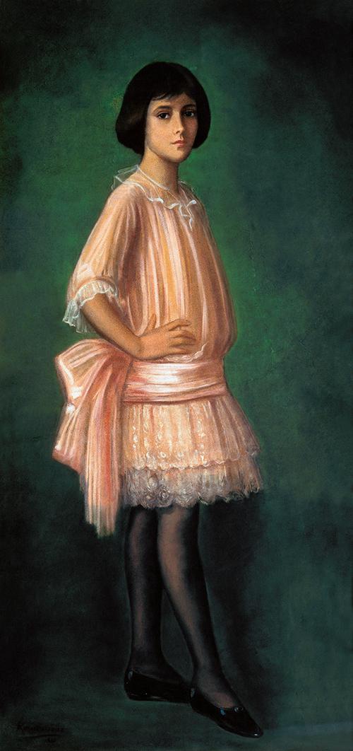 Imagen de Dolores del Río a los 11 años de Edad