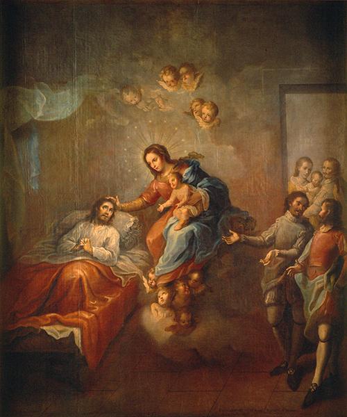Imagen de La conversión de San Ignacio de Loyola
