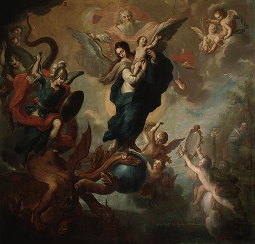 Imagen de La Virgen del apocalipsis