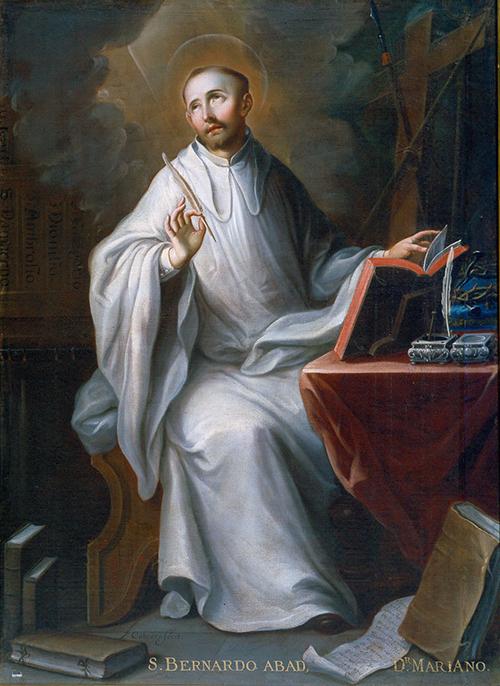 Imagen de San Bernardo abad