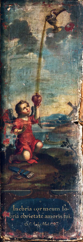 Imagen de Angelito con un Corazón en la Mano