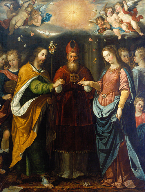 Imagen de Los desposorios de la Virgen