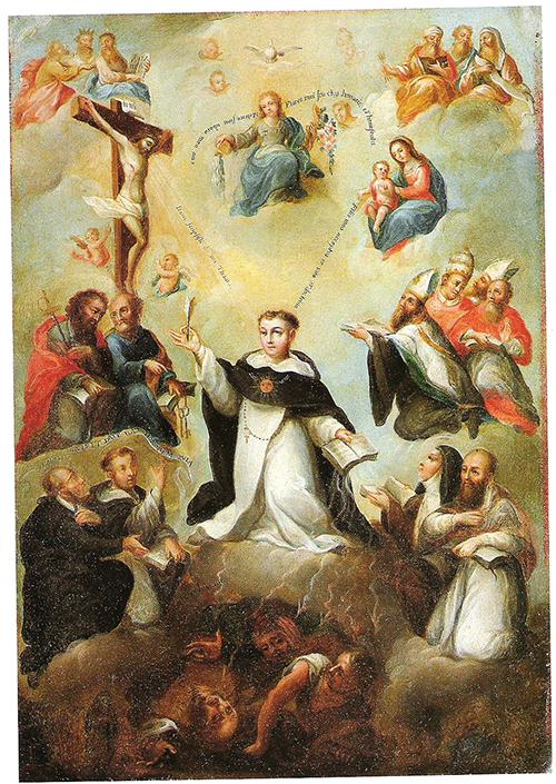 Imagen de Glorificación de Santo Tomás de Aquino