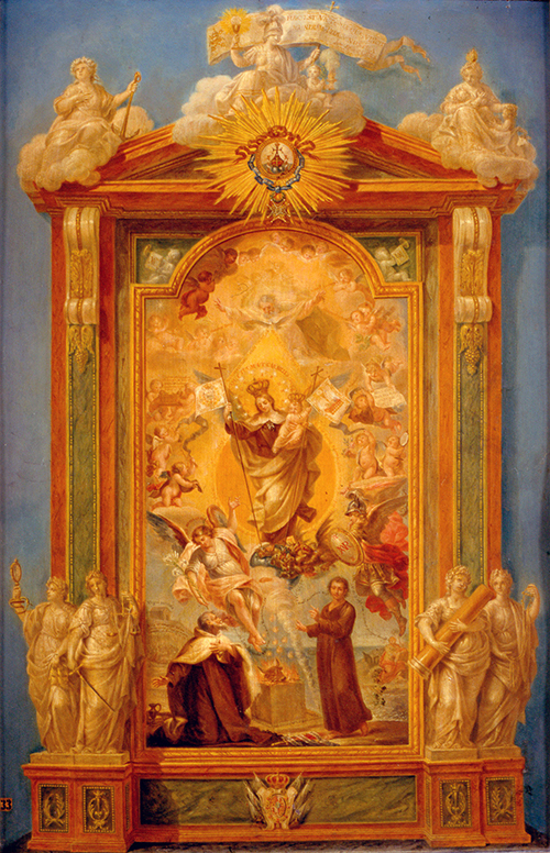 Imagen de Alegoría de la Virgen del Carmen