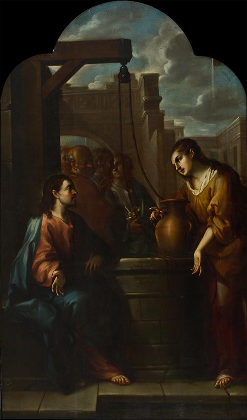 Imagen de Jesús con la Samaritana