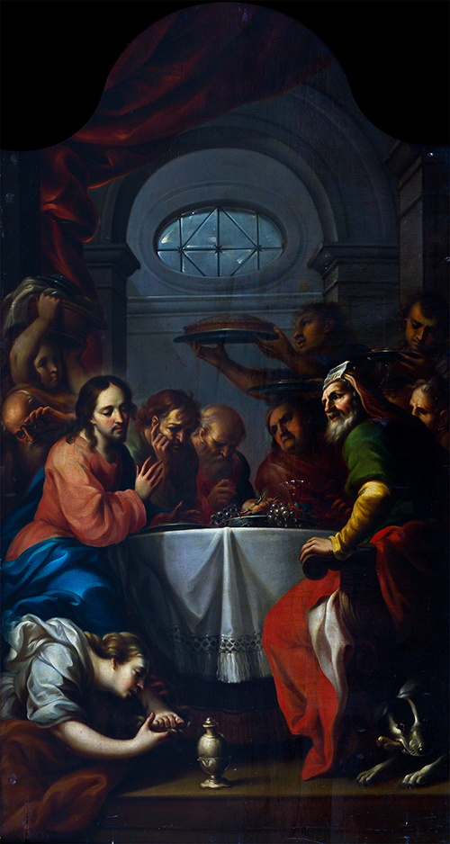 Imagen de La Magdalena lavando los Pies de Cristo