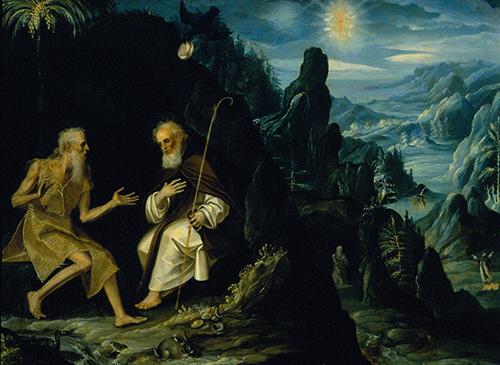 Imagen de San Pablo y San Antonio Ermitaños