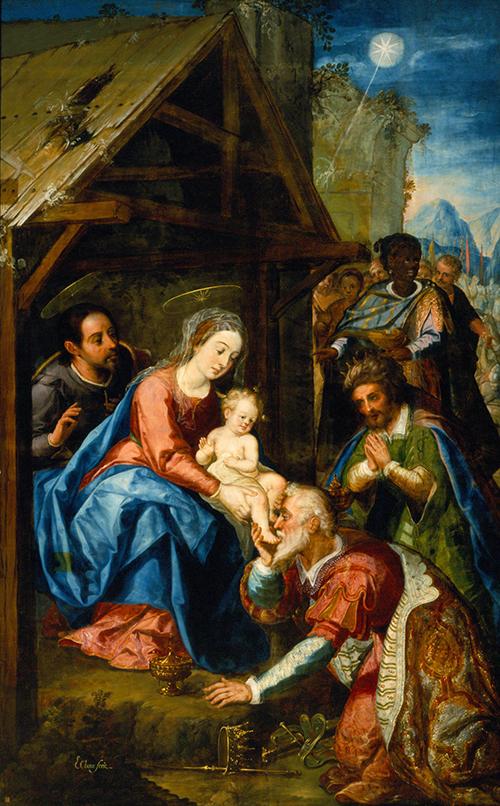 Imagen de La adoración de los Reyes