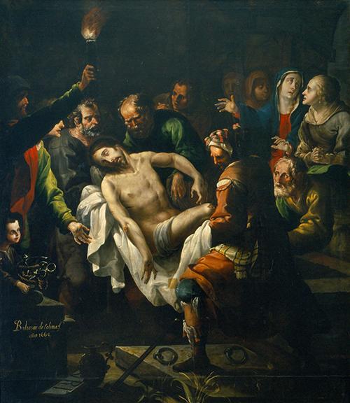 Imagen de El entierro de Cristo