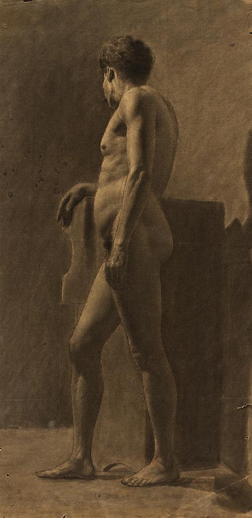 Imagen de Desnudo Masculino de Perfil