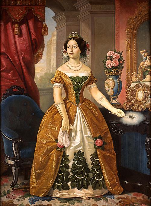 Imagen de Retrato de Doña Dolores Tosta de Santa Anna