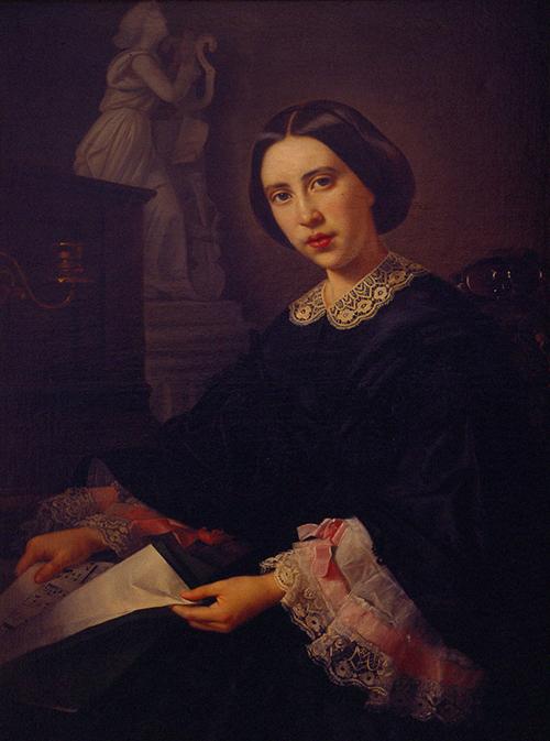 Imagen de Retrato de Doña María de los Ángeles Osio de Cordero