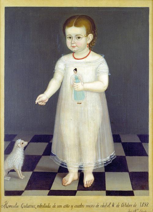 Imagen de Retrato de la niña Manuela Gutiérrez