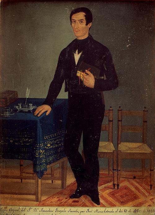 Imagen de Retrato del Presbítero José María Secundino González a.