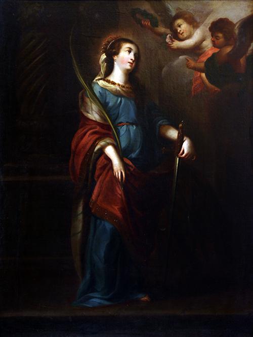 Imagen de Santa Catalina de Alejandría