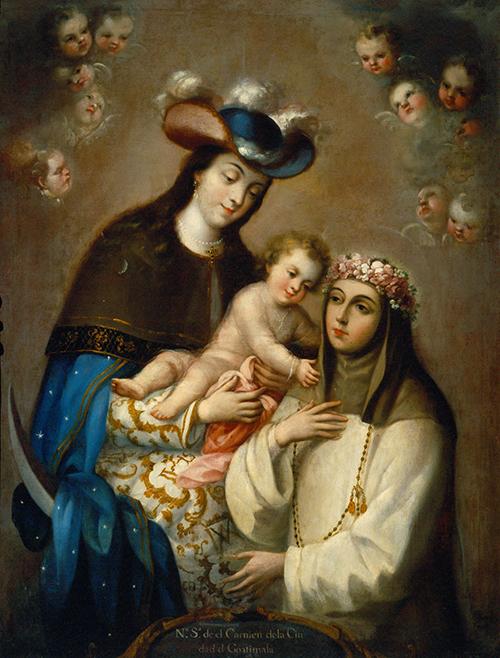 Imagen de La Virgen del Carmen de Guatemala
