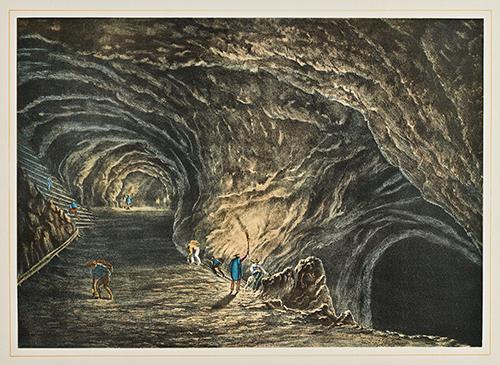 Imagen de Interior de la Mina de Raya, Gto.