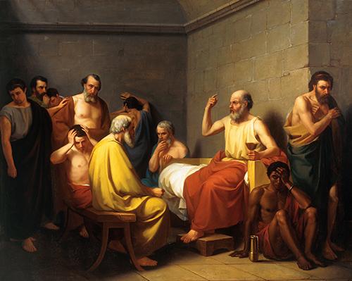 Imagen de La Muerte de Sócrates