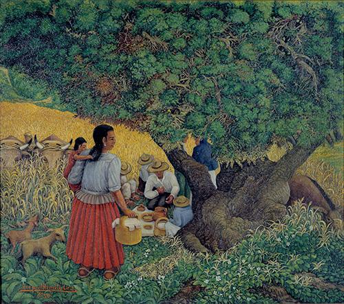 Imagen de Almuerzo en el Campo
