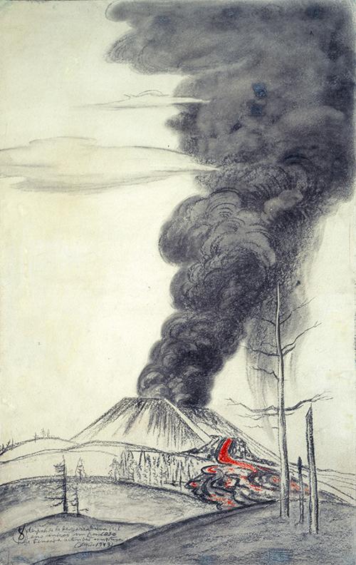 Imagen de Fumarola del Paricutín