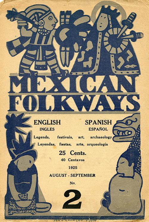 Imagen de Mexican Folkways. Mexico City. Toor, Frances Editor. Charlot, Jean art Editor. No. 2 Vol. 1.
